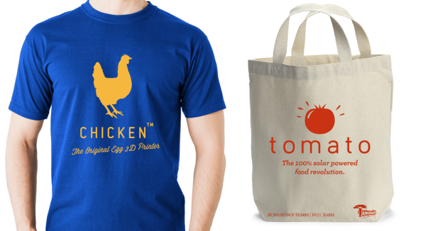 Entrepreneur t-shirt and bag