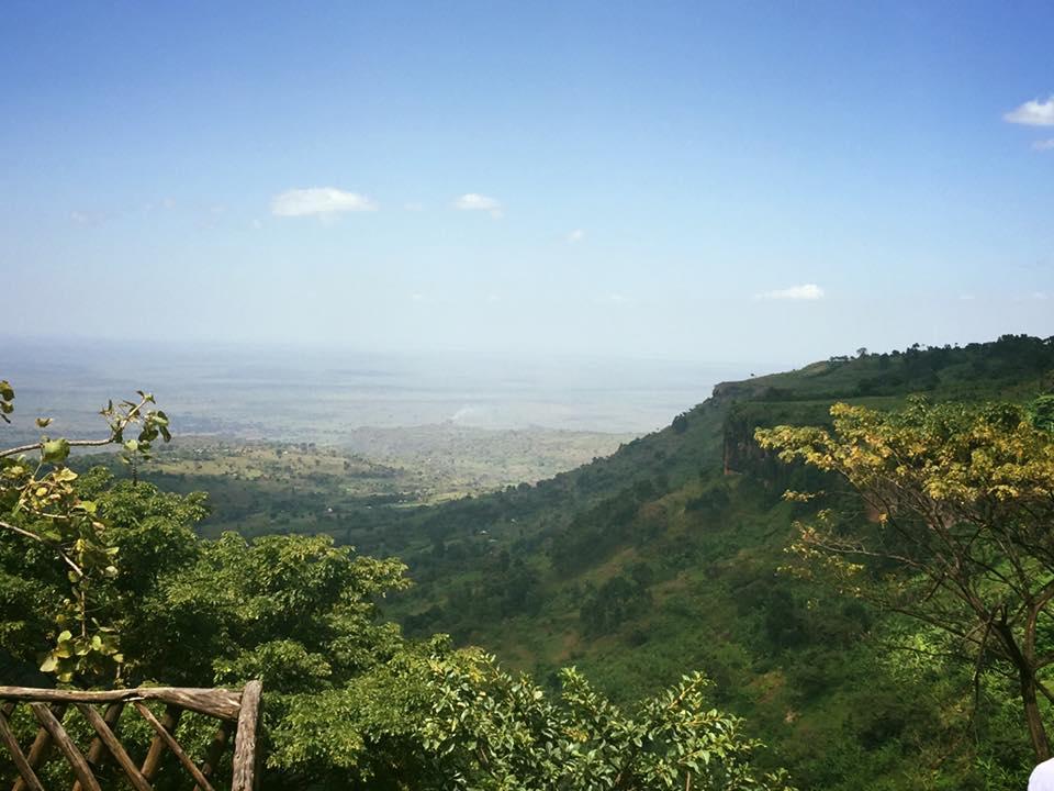 Uganda hills.